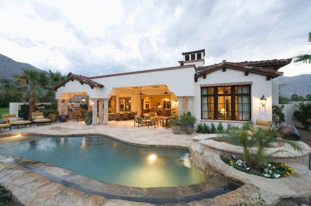 Stunning pool in this luxury real estate listing that you will want to use extreme marketing