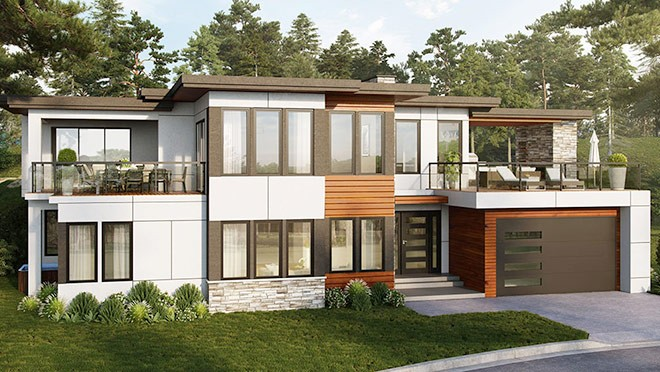 Modern homes have numerous options to increase energy efficiency